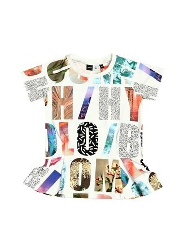 Asymmetry Tişört Renkli